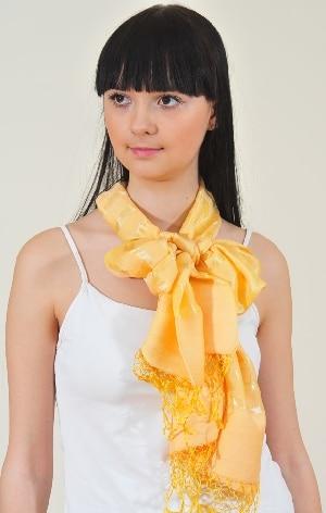 Несколько способов красиво завязать шарф, способы завязывания шарфа.