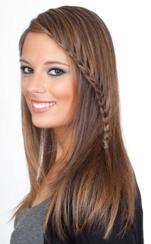 Длинные волосы – простор для фантазии