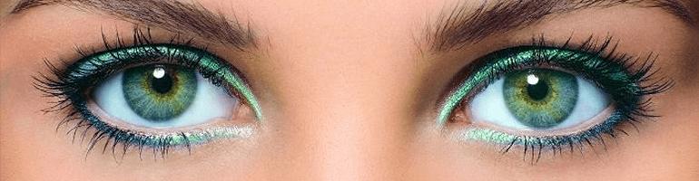 Макияж для зелёных глаз - вечерний макияж для зеленых глаз