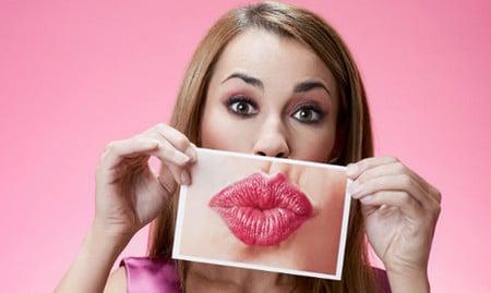 Специальные упражнения для губ сделают их более выразительными
