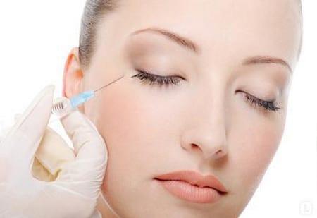 Мезатерапия кожи вокруг глаз
