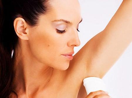 Важно правильно подобрать дезодорант