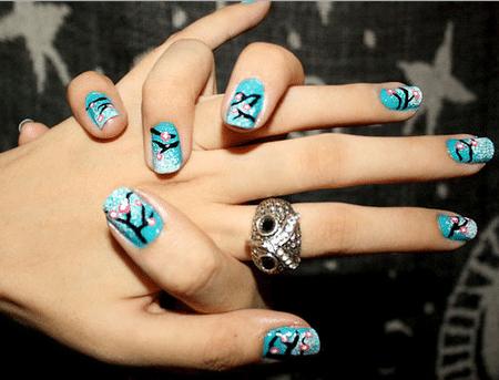 Короткие ногти – ультрамодное направление нейл-арта осенью-зимой 2013 года