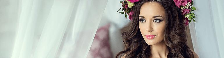 Свадебный макияж для брюнеток: секреты эффектного образа невесты + мастер-класс