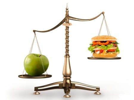меньше калорий