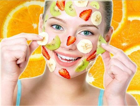 фрукты для пилинга