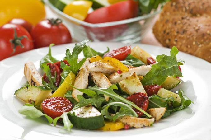 Диетические блюда салаты рецепты с