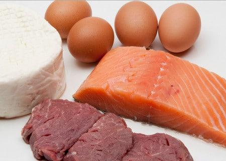 белок и овощи