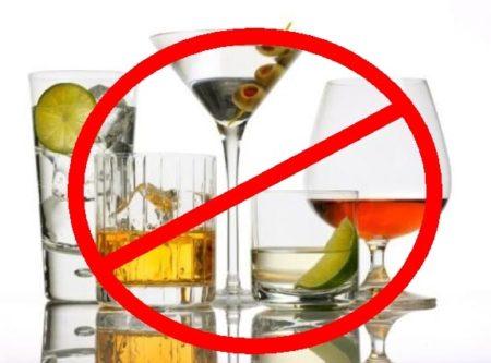 алкоголь при диете