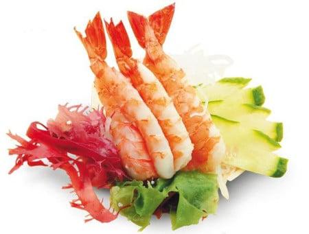 морепродукты в меню