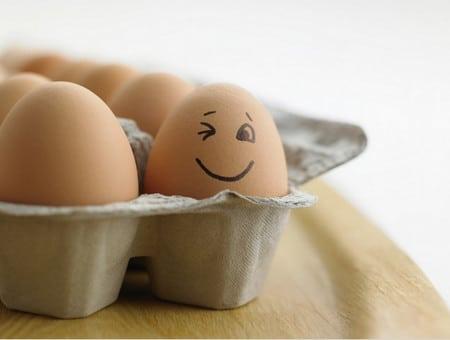 яйца в меню