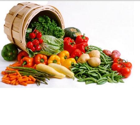 Фруктово овощная диета на неделю