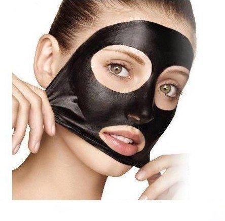 маской с активированным углем