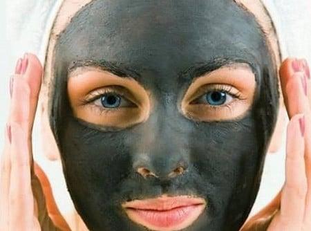 маска пленка из желатина от черных точек