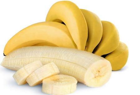 банан для лица