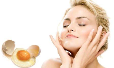 яйцо для кожи лица