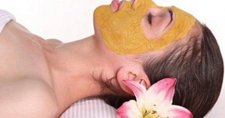 маска из куркумы
