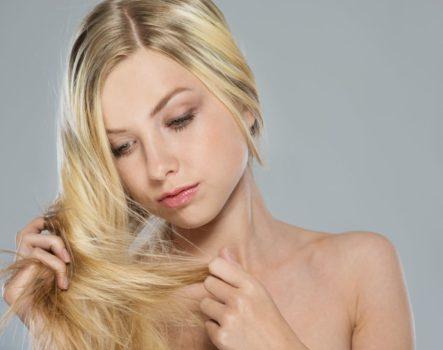 ослабленные волосы