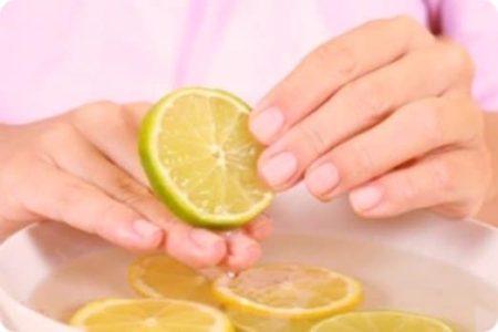 Лимонная маска