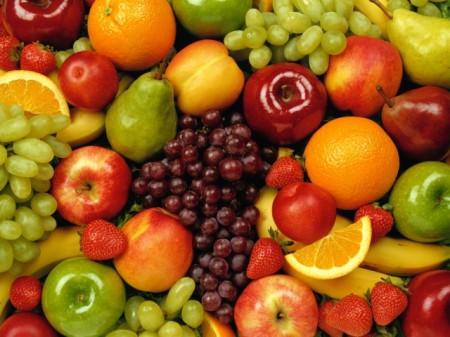 фрукты для лица