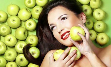 яблочные маски