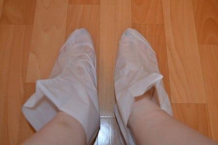 маска для ног