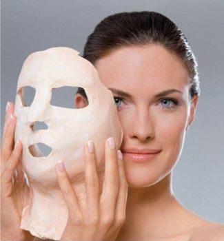 лицо после маски
