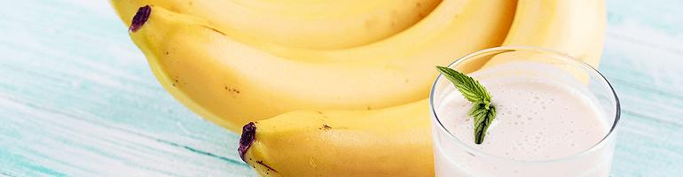Банановая диета: идеальное меню с молоком и творогом для похудения за 3 или 7 дней