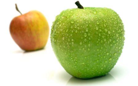 зеленные яблоки