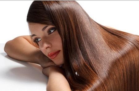 ухоженные волосы