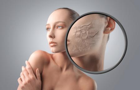 Витаминные маски увлажнят сухую кожу
