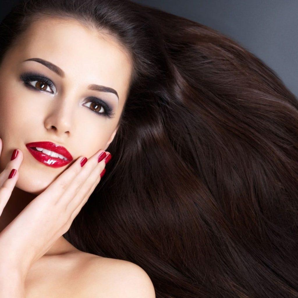 красивые кожа и волосы