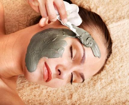 маска из глины