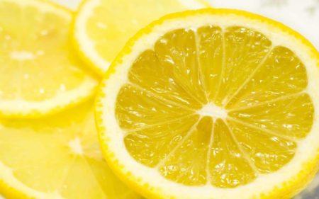 отбеливание лимоном